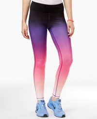 Trolls By Dreamworks Juniors' Ombre Active Leggings Pink Ombre