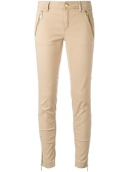 Michael Michael Kors Skinny Trousers Nude Neutrals