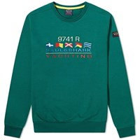 Paul And Shark Yachting Crew Sweat Green