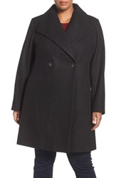 Michael Michael Kors Plus Size Women's Double Breasted Swing Coat