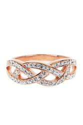 Candela Crystal Braided Band No Color