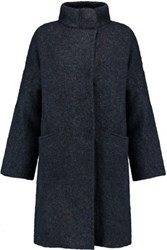 Rag And Bone Cammie Knitted Coat Navy