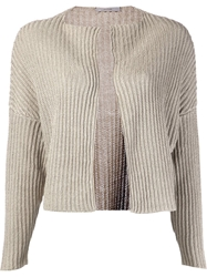 Dusan Knit Cardigan Nude And Neutrals