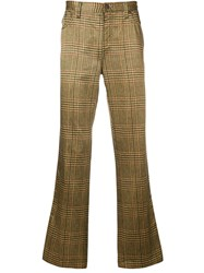 Moschino Vintage Trousers Yellow And Orange