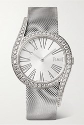 Piaget Limelight Gala 32Mm 18 Karat White Gold And Diamond Watch One Size