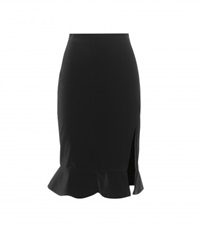 Altuzarra Cotton Skirt Black