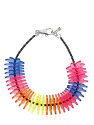 Dsquared Origami Perspex Flowers Necklace