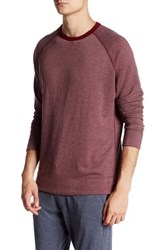 Benson New York French Terry Pullover Red