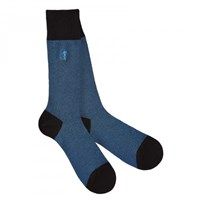 London Sock Company Marl Royal Blue