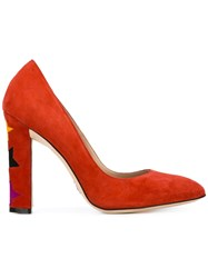 Paula Cademartori Cinderella Pumps Red