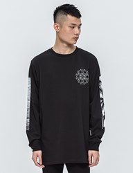 Black Scale Nd L S T Shirt