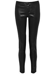 French Connection Minnelli Leggings Metallic Black