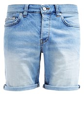 Only And Sons Onsloom Denim Shorts Light Blue Denim
