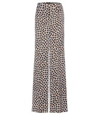 Etro Printed Wide Leg Trousers Multicoloured