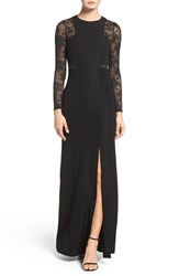 Ali And Jay Women's Lace Inset Gown