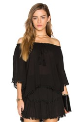 Loveshackfancy Gypsy Top Black