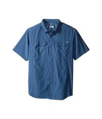 Columbia Silver Ridge S S Shirt Tall Steel Men's Short Sleeve Button Up