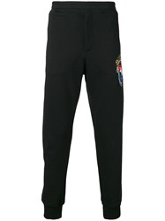 Alexander Mcqueen Elasticated Waist Trousers Black