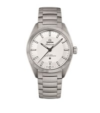 Omega Globemaster Co Axial Master Chronometer 39Mm Unisex Silver
