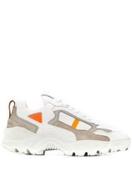 Filling Pieces Chunky Sole Sneakers White