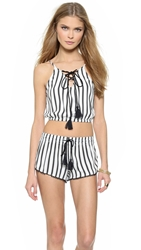 House Of Harlow Rodeo Cropped Bubble Tank
