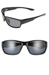Men's Polaroid Eyewear 'Pld 3015 S' 63Mm Polarized Sunglasses Shiny Black