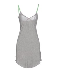 M.Grifoni Denim Dresses Short Dresses Women Grey