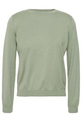 Red Valentino Cashmere And Silk Blend Sweater Light Green