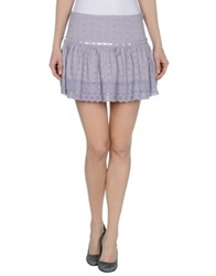 Ganesh Mini Skirts Ivory