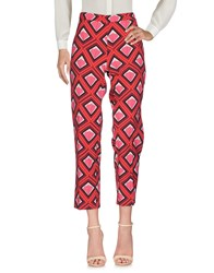 1 One Casual Pants Red