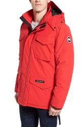 Canada Goose Men's 'Constable' Regular Fit Water Resistant Down Parka Red