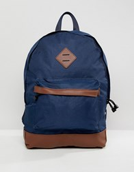New Look Backpack In Blue