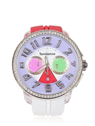 Tendence Crazy Watch White Pink