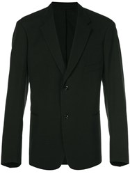 Christophe Lemaire Two Button Blazer Black