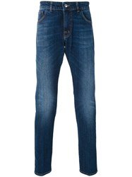Entre Amis Slim Fit Jeans Men Cotton Polyurethane 29 Blue