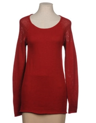 By Zoe Long Sleeve Sweaters Maroon