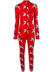 Perfect Moment Star Ii Jumpsuit Red