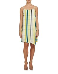 1.State Spaghetti Strap Slip Dress Yellow