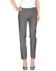 Kangra Cashmere Trousers Casual Trousers Women Grey
