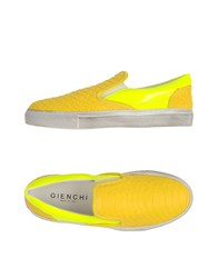 Gienchi Footwear Low Tops And Trainers Women Yellow