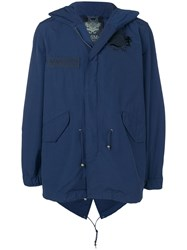 Mr And Mrs Italy Lightweight Parka Blue