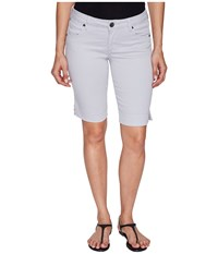 Kut From The Kloth Natalie Bermuda In Cool Grey Cool Grey Women's Shorts Gray