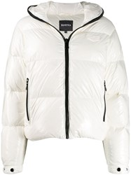 Duvetica Bellatrix Short Puffer Jacket White