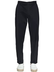 Emporio Armani 18.5Cm Light Cotton Satin Trousers