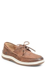 Born 'S B Rn Ocean Boat Shoe Rust Leather