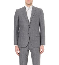 Reiss Cruise Modern Fit Wool Jacket Grey
