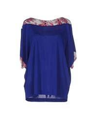 Byblos Topwear T Shirts Women Blue