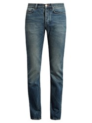 Paul Smith Mid Rise Slim Leg Jeans Blue