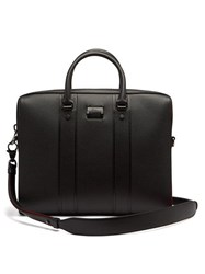 Christian Louboutin Streetwall Leather Briefcase Black
