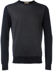 Cruciani Crew Neck Sweater Blue